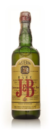 J&B Rare Blended Scotch Whisky - 1950s