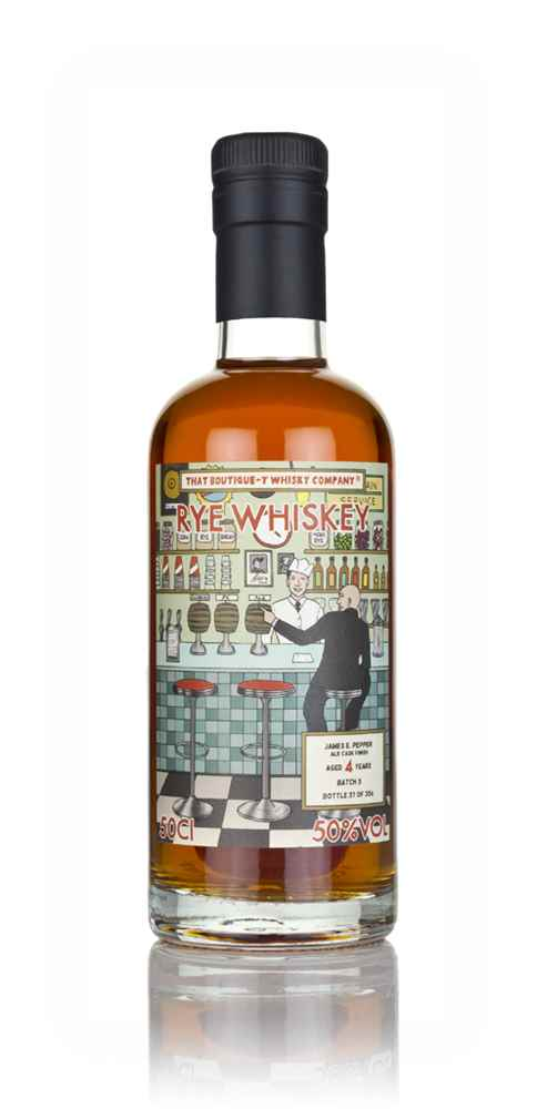 James E. Pepper 4 Year Old - Ale Cask Finish (That Boutique-y Whisky Company)