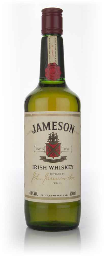 Jameson Irish Whiskey (Old Bottle)