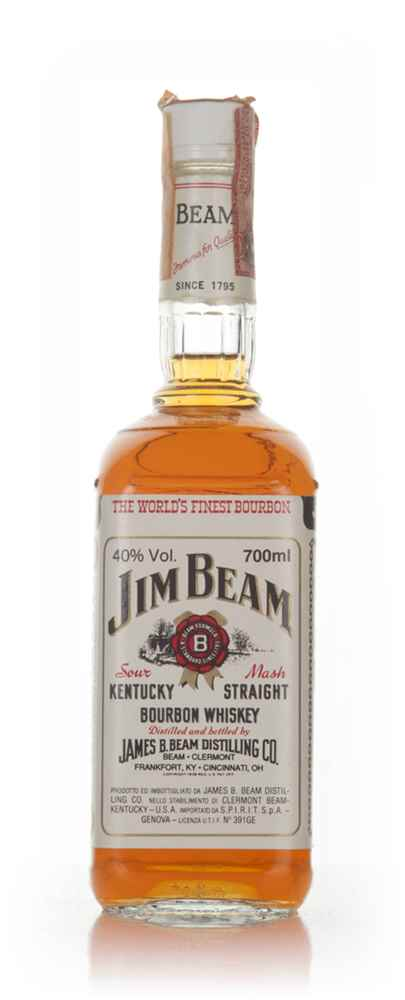 Jim Beam White Label - 1970s (70cl)