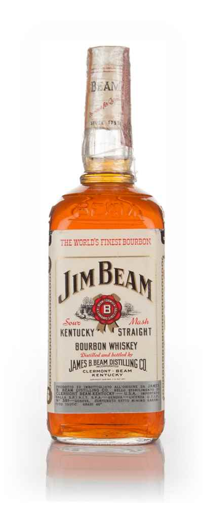 Jim Beam White Label - 1970s