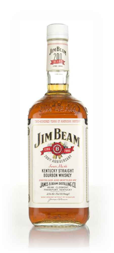 Jim Beam White Label 1l - 1995