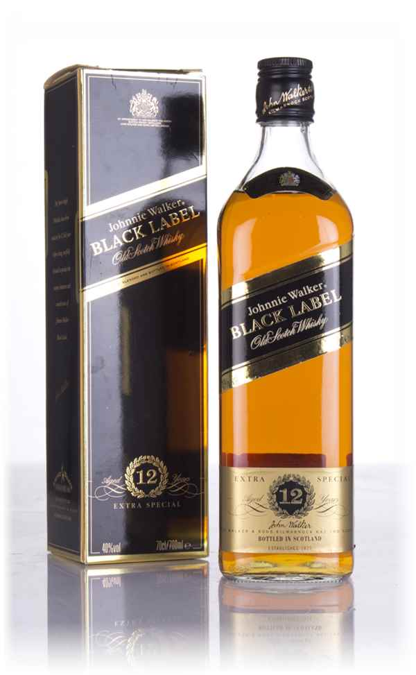 Johnnie Walker Black Label 12 Year Old - Post-1990