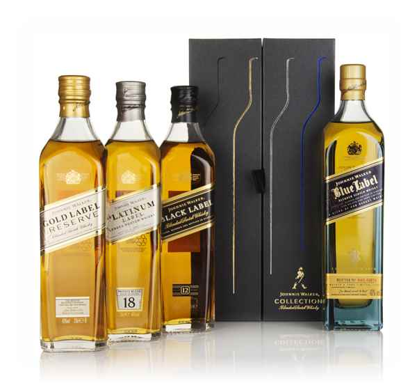 Johnnie Walker Collection Pack (4 x 20cl)