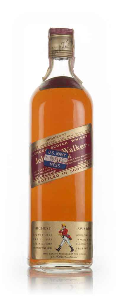 Johnnie Walker Red Label 90cl - 1970s