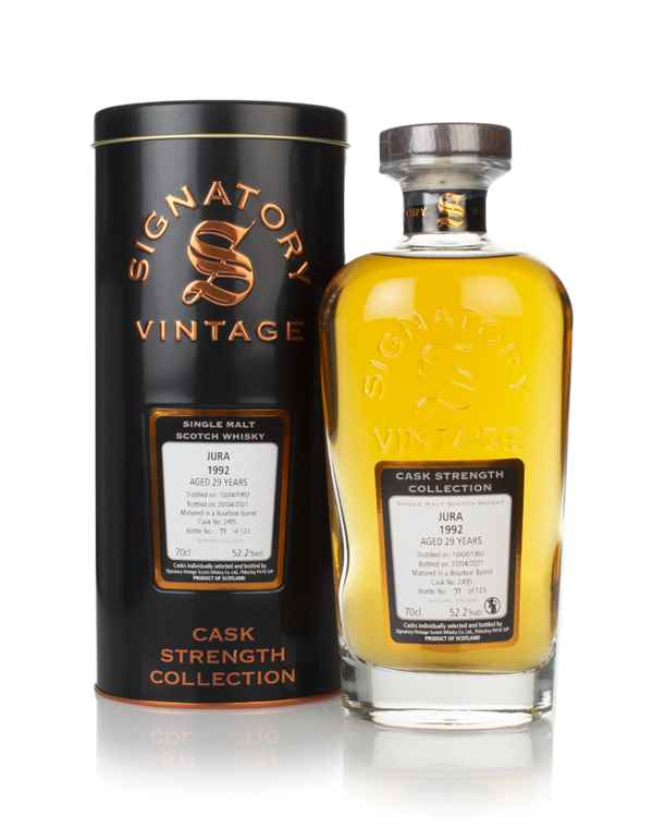 Jura 29 Year Old 1992 (cask 2495) - Cask Strength Collection (Signatory)