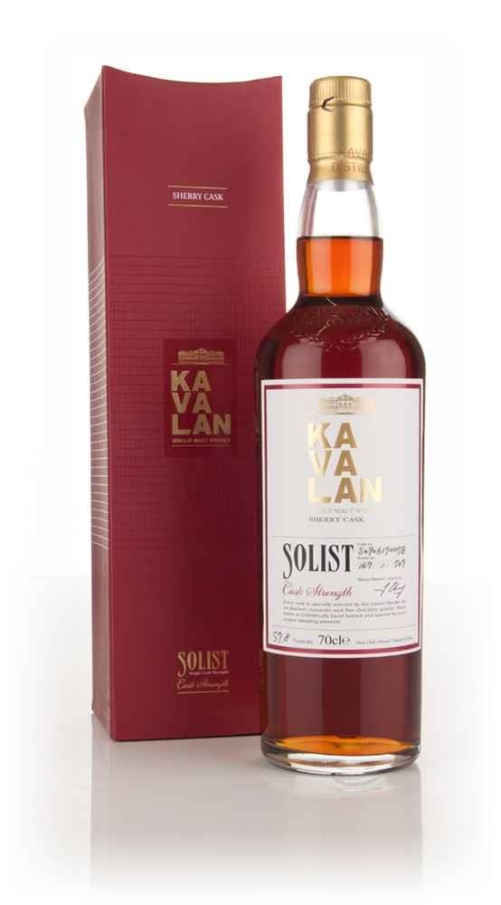 Kavalan Solist Sherry Cask Matured 57.8%