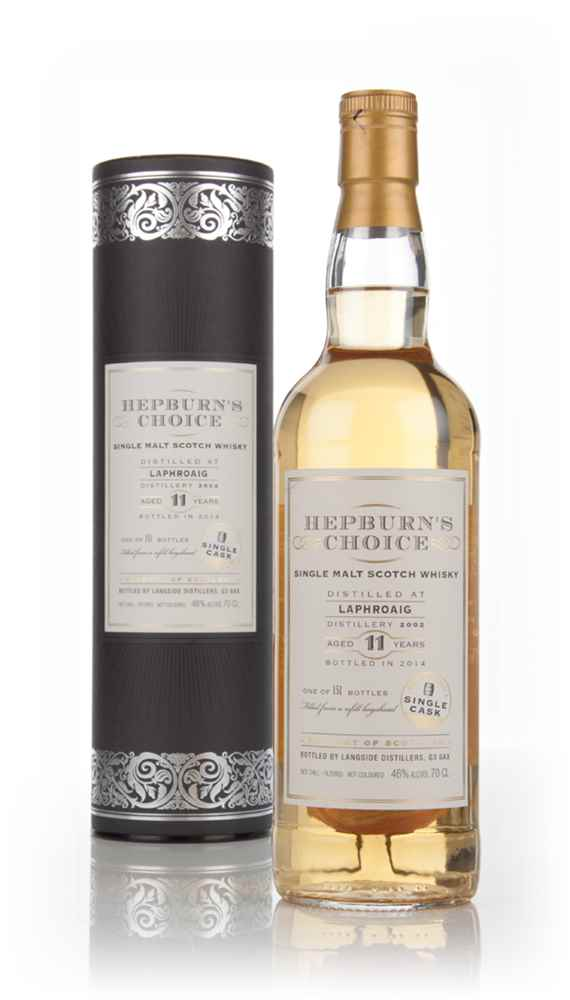 Laphroaig 11 Year Old 2002 - Hepburn's Choice (Langside)