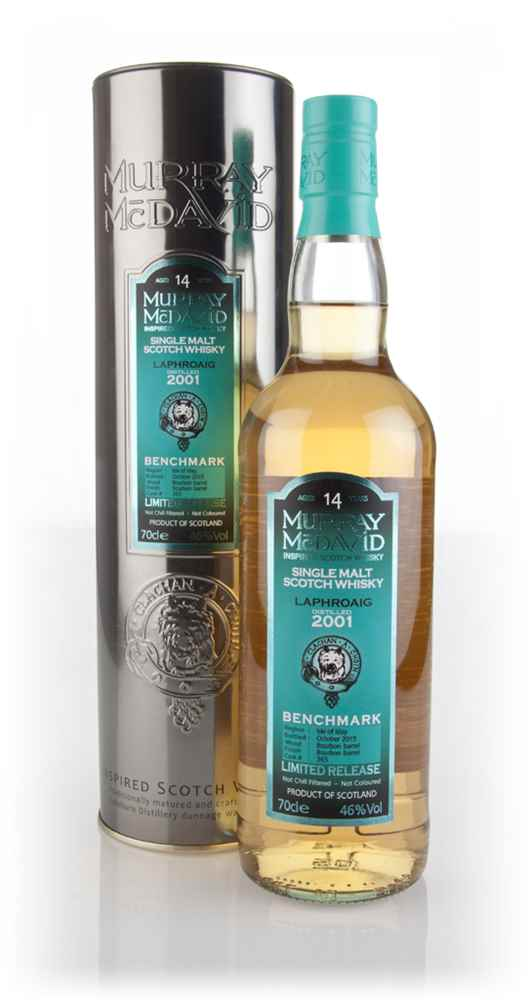 Laphroaig 14 Year Old 2001 (cask 365) - Benchmark (Murray McDavid)