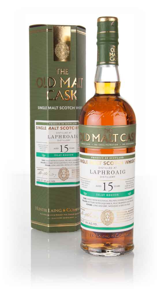 Laphroaig 15 Year Old 2001 (cask 12357) - Old Malt Cask (Hunter Laing)