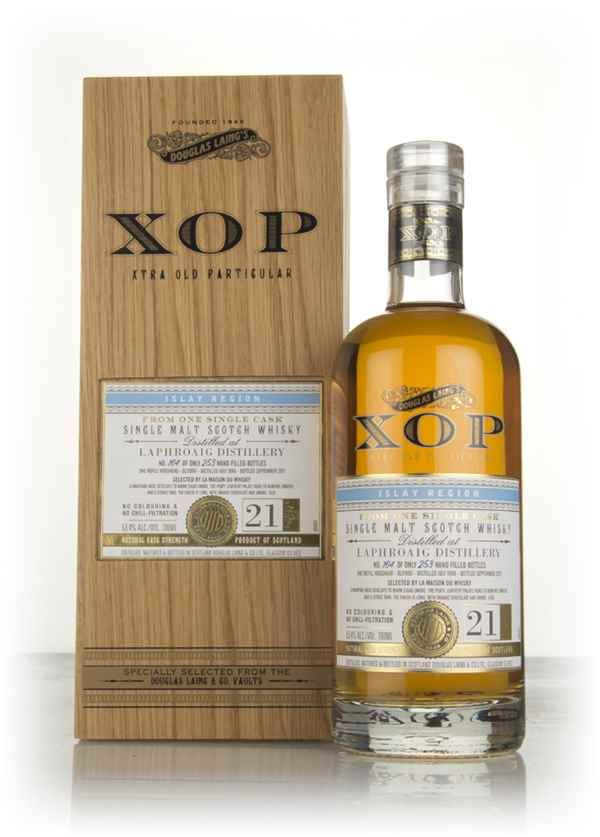 Laphroaig 21 Year Old 1996 (cask 11990) - Xtra Old Particular (Douglas Laing)