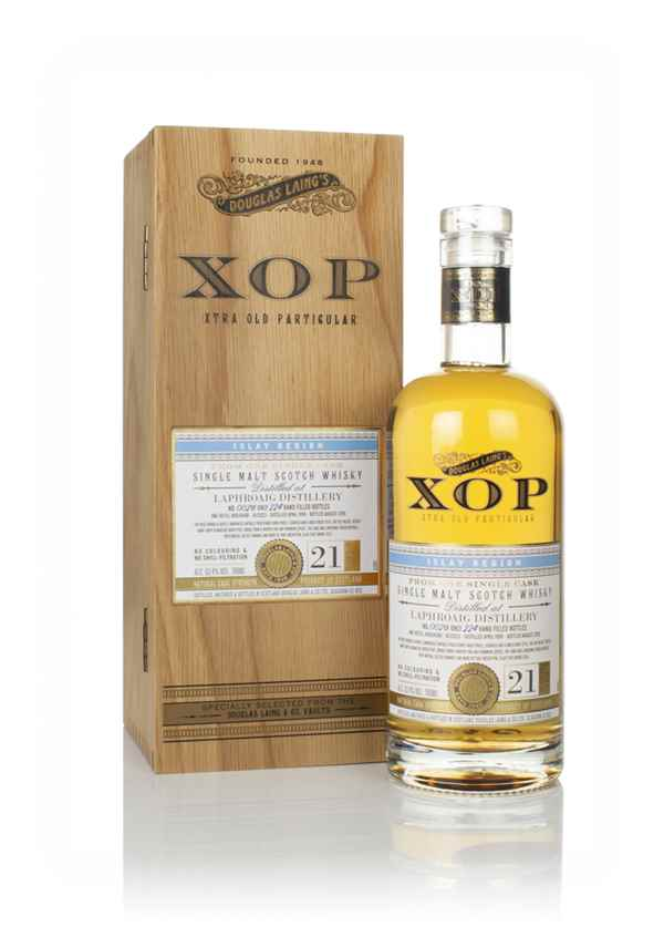 Laphroaig 21 Year Old 1998 (cask 13523) - Xtra Old Particular (Douglas Laing)