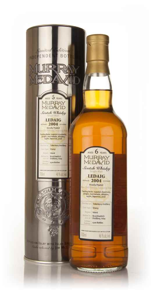 Ledaig 6 Year Old 2004 (Murray McDavid)