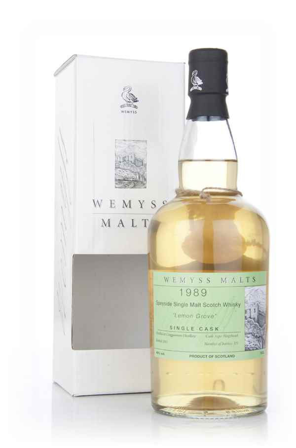 Lemon Grove 1989 - Wemyss Malts (Cragganmore)