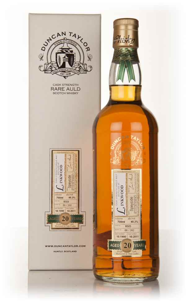 Linkwood 20 Year Old 1990 - Rare Auld (Duncan Taylor)