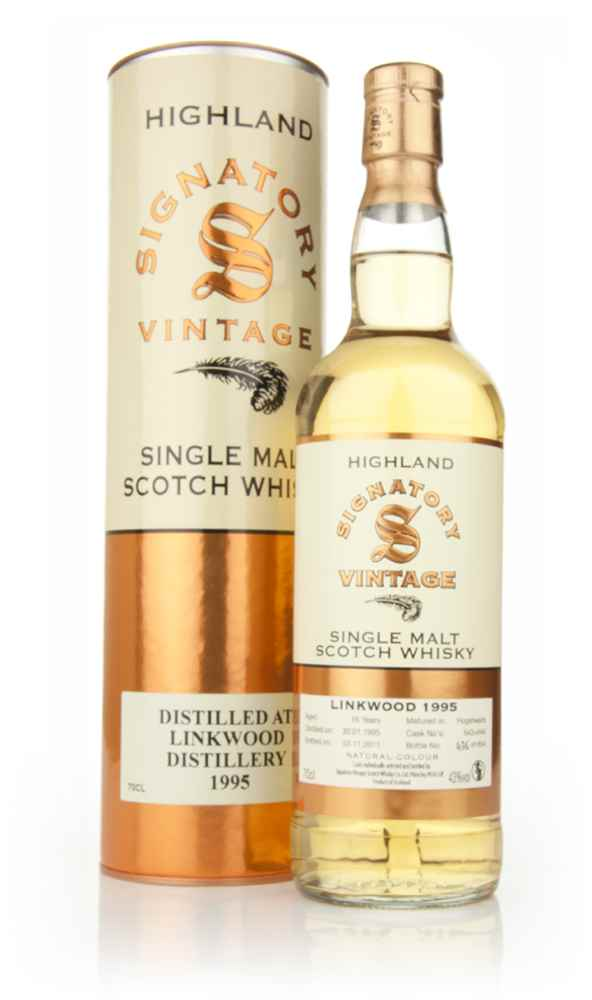 Linkwood 16 Year Old 1995 (Signatory)