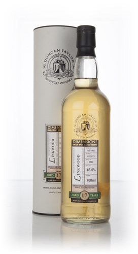 Linkwood 17 Year Old 1995 - Batch 0002 - Dimensions (Duncan Taylor)
