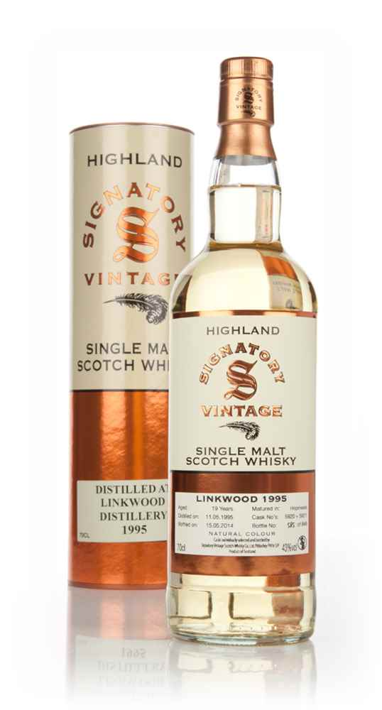 Linkwood 19 Year Old 1995 (casks 5920+5921) (Signatory)