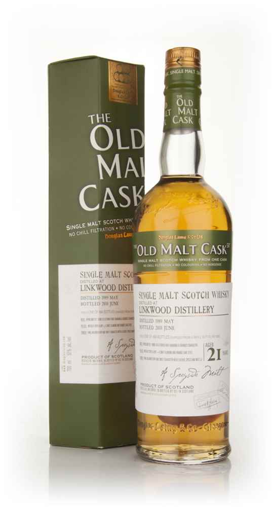 Linkwood 21 Year Old 1989 - Old Malt Cask (Douglas Laing)