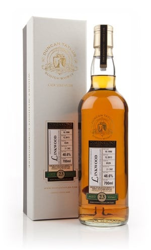 Linkwood 23 Year Old 1990 (cask 8329) - Dimensions (Duncan Taylor)