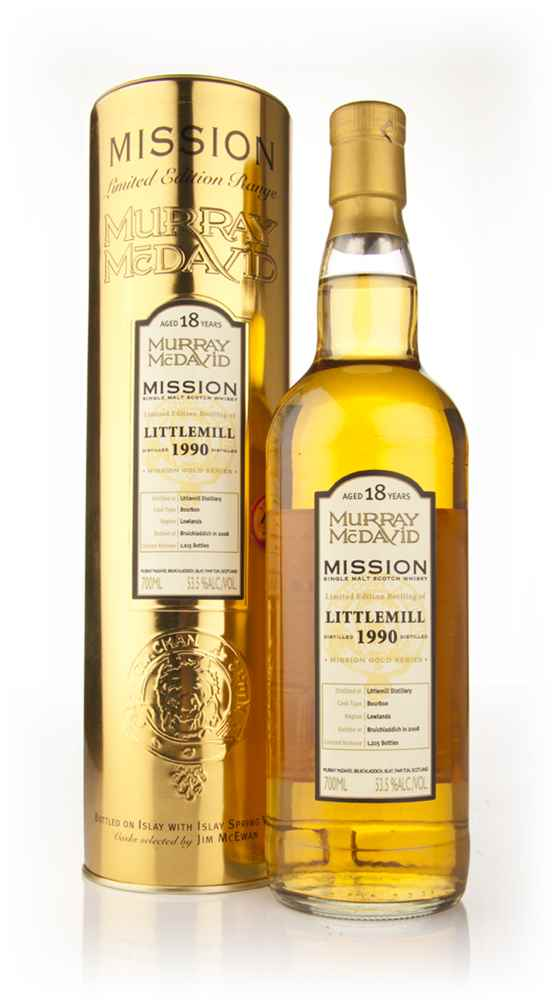Littlemill 18 Year Old 1990 - Mission (Murray McDavid)