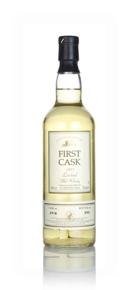 Littlemill 20 Year Old 1983 (cask 2918) - First Cask