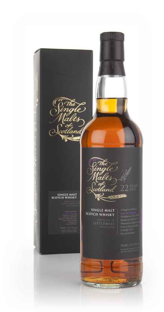 Littlemill 22 Year Old 1989 (cask 3120) - Single Malts of Scotland (Speciality Drinks)