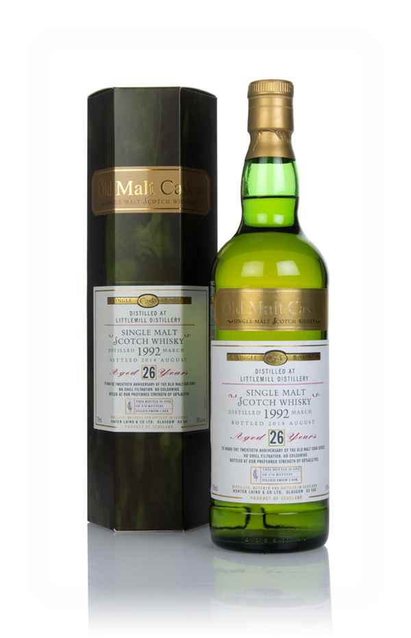 Littlemill 26 Year Old 1992 - Old Malt Cask (Hunter Laing)