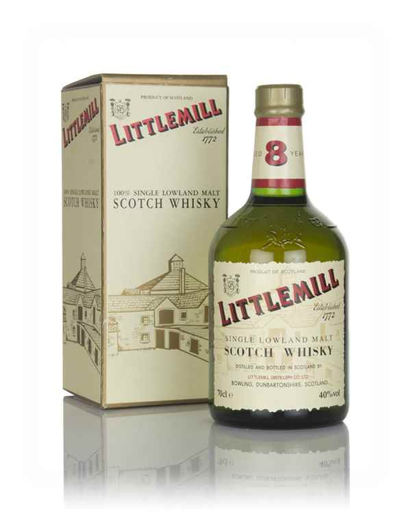 Littlemill 8 Year Old Green Bottle