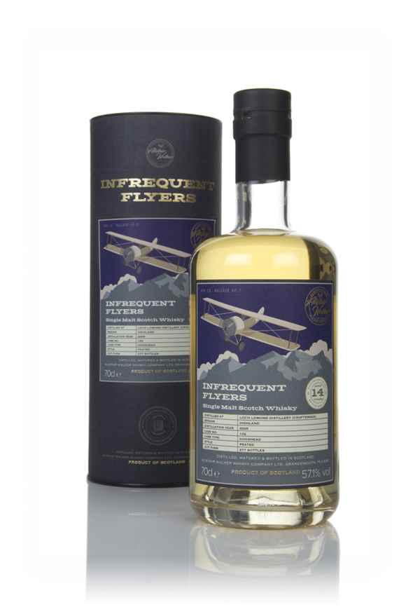 Croftengea 14 Year Old 2005 (cask 102) - Infrequent Flyers (Alistair Walker)