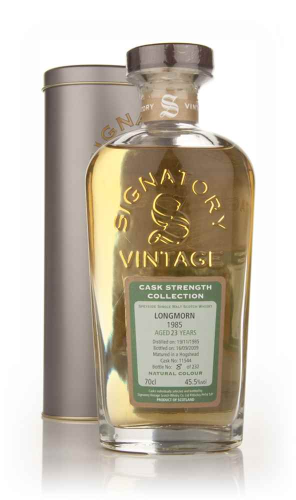 Longmorn 23 Year Old 1985 - Cask Strength Collection (Signatory)