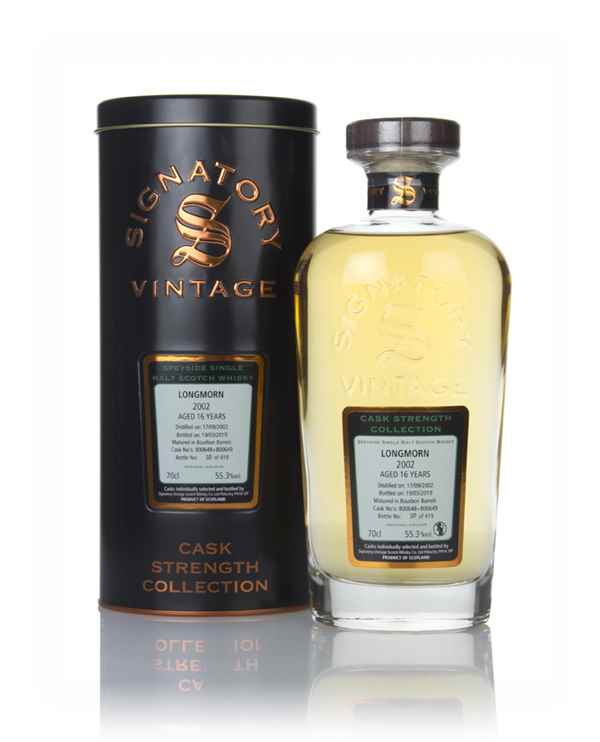 Longmorn 16 Year Old 2002 (casks 800648 & 80649) - Cask Strength Collection (Signatory)