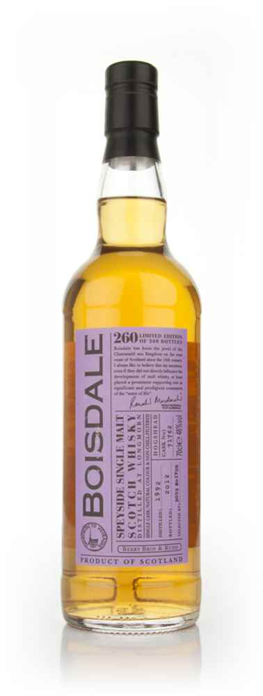 Longmorn 19 Year Old 1992 - Boisdale (Berry Bros. & Rudd)