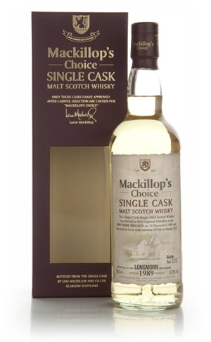 Longmorn 22 Year Old 1989 (cask 18768) - Mackillop's Choice