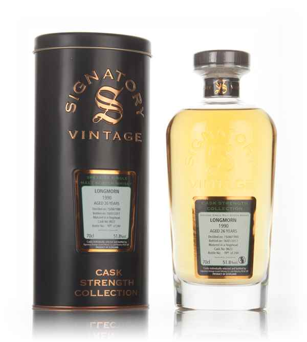 Longmorn 26 Year Old 1990 (cask 8623) - Cask Strength Collection (Signatory)