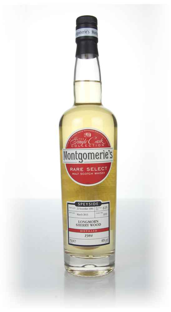 Longmorn 28 Year Old 1984 (cask 3213) - Rare Select (Montgomerie's)