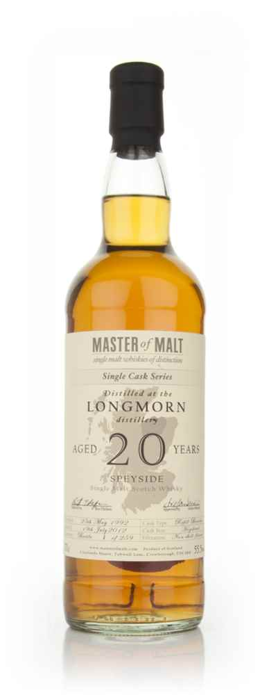 Longmorn 20 Year Old - Single Cask (Master of Malt)