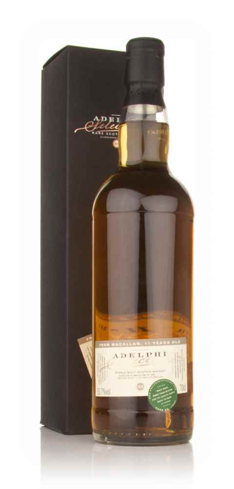 Macallan 17 Year Old 1993 (Adelphi)
