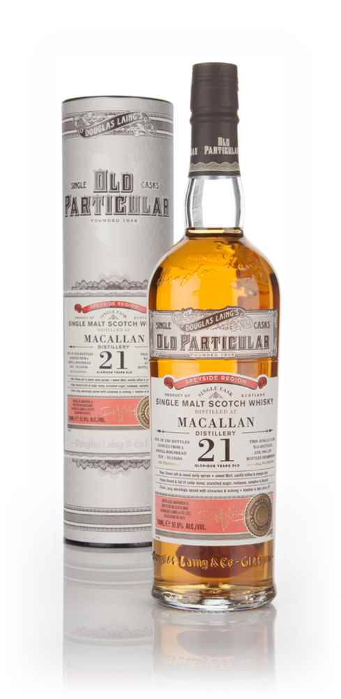 Macallan 21 Year Old 1993 (cask 10586) - Old Particular (Douglas Laing)