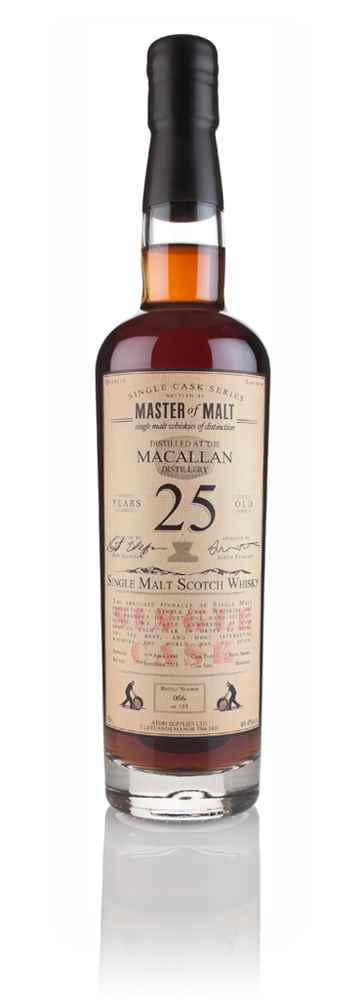 Macallan 25 Year Old 1990 - Single Cask (Master of Malt)