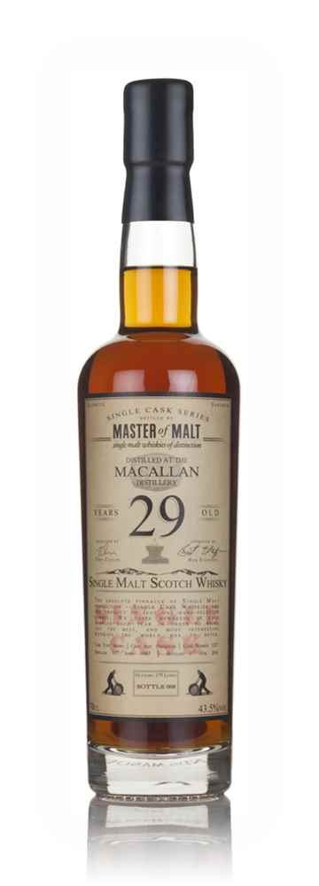Macallan 29 Year Old 1987 - Single Cask (Master of Malt)