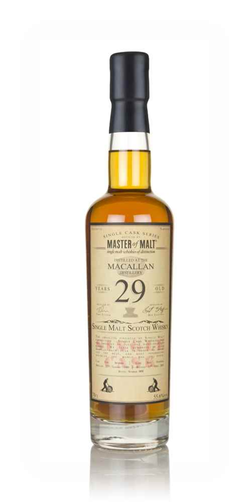 Macallan 29 Year Old 1989 - Single Cask (Master of Malt)