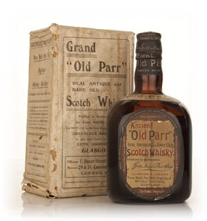 Old Parr Blended Scotch Whisky - 1950s
