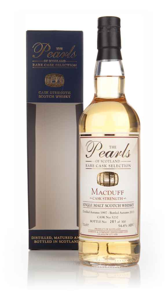 Macduff 1997 (cask 5232) - Pearls of Scotland (Gordon & Company) (bottled 2013)