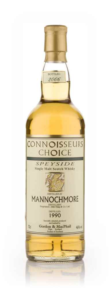 Mannochmore 1990 - Connoisseurs Choice (Gordon and MacPhail)