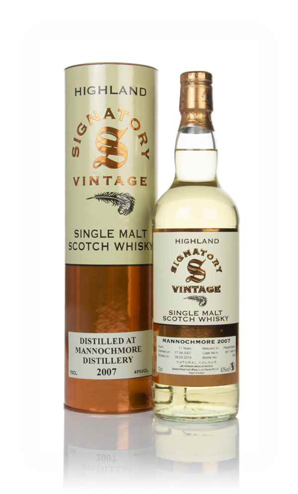 Mannochmore 11 Year Old 2007 (casks 6677 & 6679) - Signatory