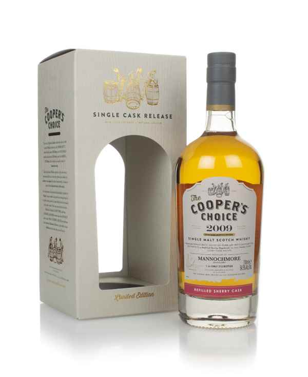 Mannochmore 12 Year Old 2009 (cask 1445) - The  Cooper's Choice (The Vintage Malt Whisky Co.)