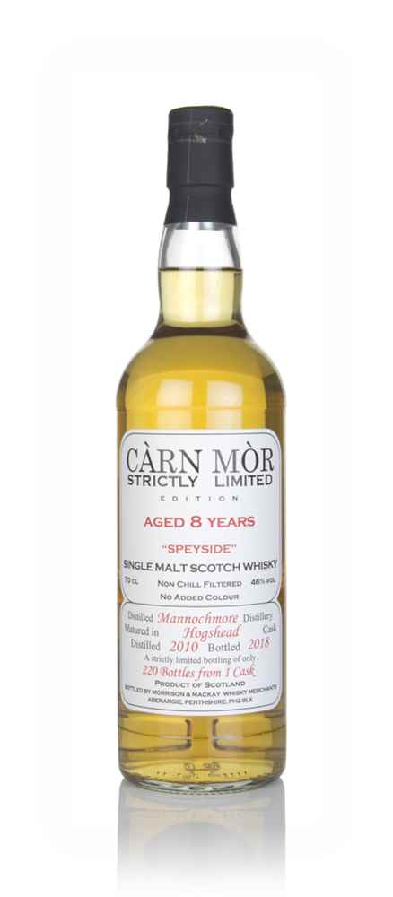 Mannochmore 8 Year Old 2010 - Strictly Limited (Càrn Mòr)