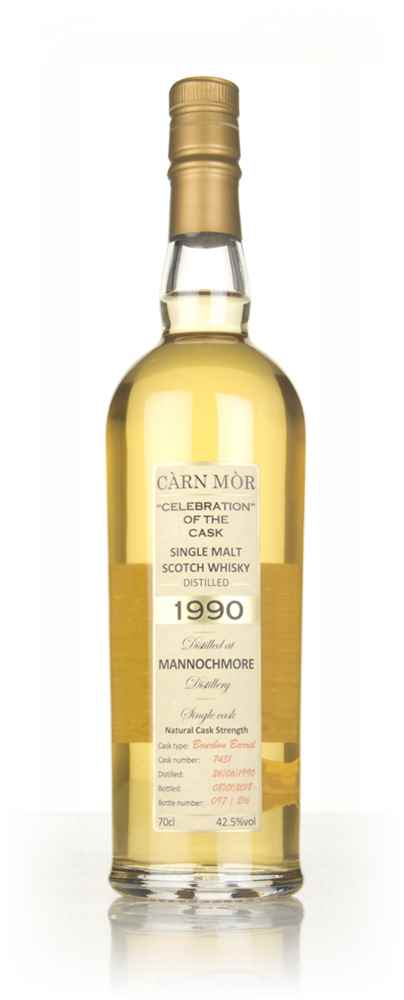 Mannochmore 27 Year Old 1990 (cask 7431) - Celebration of the Cask (Càrn Mòr)