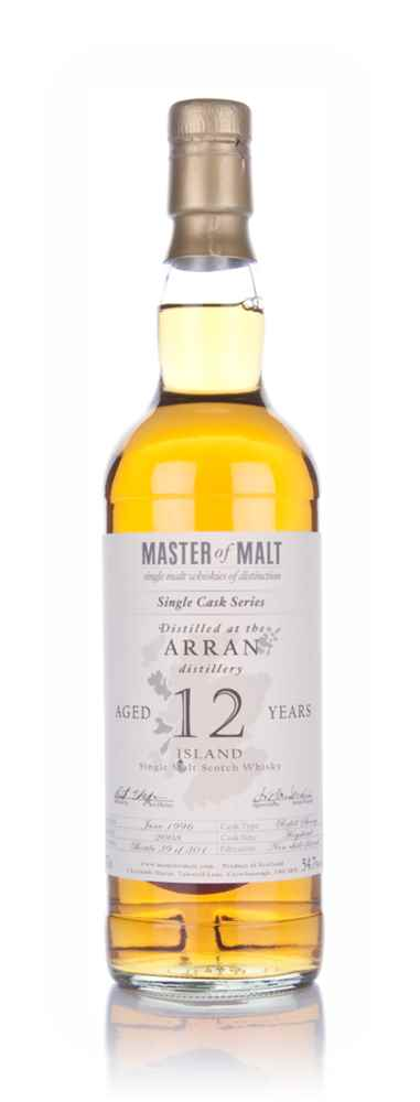 Arran 12 Year Old - Single Cask (Master of Malt)